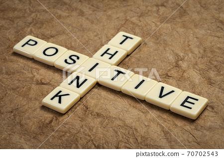 think positive crossword 70702543