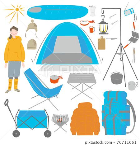 婦女與露營裝備 70711061