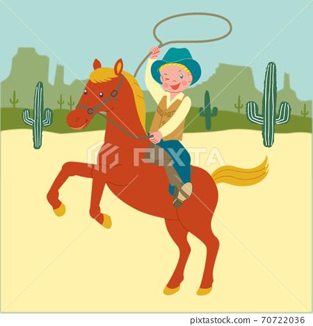 牛仔騎馬 70722036