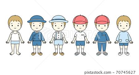 幼兒園/幼兒園/男孩童裝 70745627