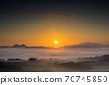 환상적인운해와태양 70745850