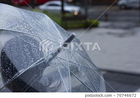 Rainy season city landscape 010 70746672