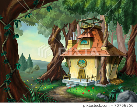 House in the wood 70766556