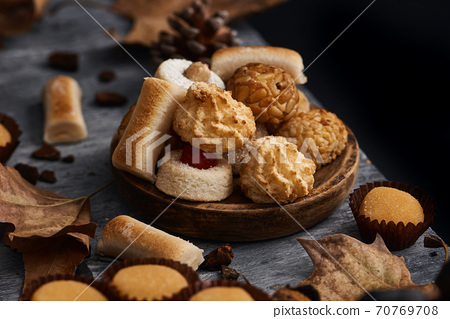 spanish confection eaten on All Saints Day 70769708