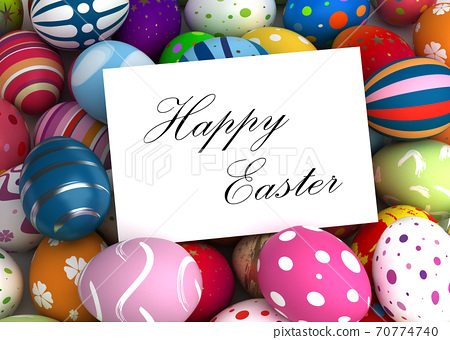 Happy Easter Message 70774740