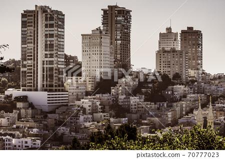 San Francisco city and home landscape 70777023