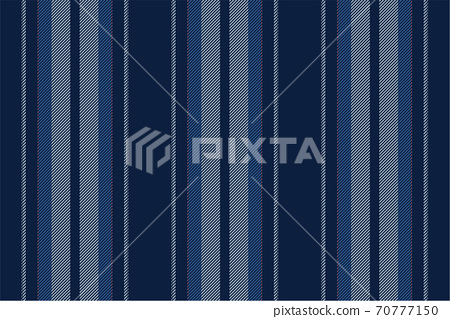 Trendy striped wallpaper. Vintage stripes vector pattern seamless fabric texture. Template stripe wrapping paper. 70777150