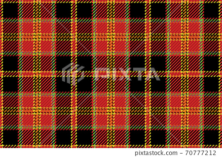 Tartan plaid pattern seamless vector background. Check plaid for flannel shirt, blanket, throw, or other modern textile 70777212
