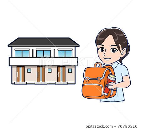 公寓 護士 防災 70780510