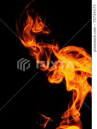 초록 불 클로즈업 70784373