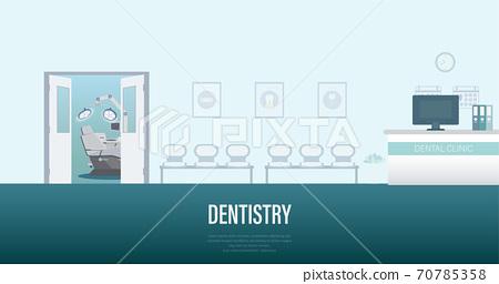 Dental clinic banner 70785358