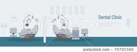 Dental clinic banner 70785360