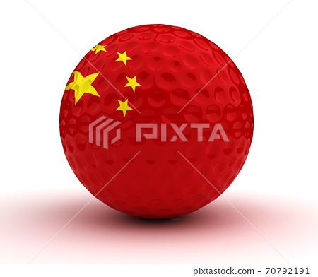 Chenese Golf Ball 70792191