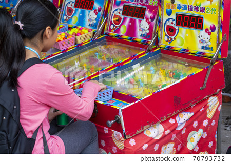 台北,年貨大街,彈珠台,台北、ニューイヤーストリート、ピンボール、Pinball,Taipei, 70793732