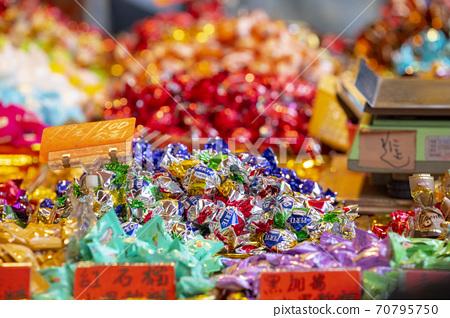 春節,台北,年貨大街,糖果,春祭り、台北、ニューイヤーストリート、キャンディー、candy, 70795750
