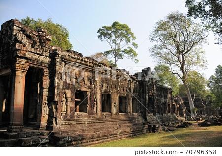 柬埔寨,吳哥廢墟,萬代班代(武僧的堡壘) 70796358
