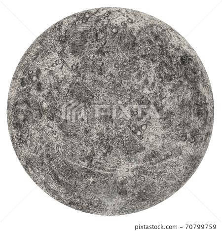 汞插圖筆繪圖 70799759