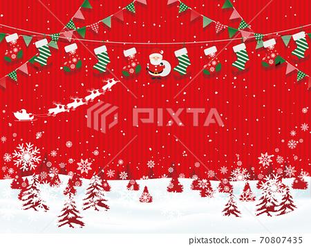 聖誕節圖像素材 70807435