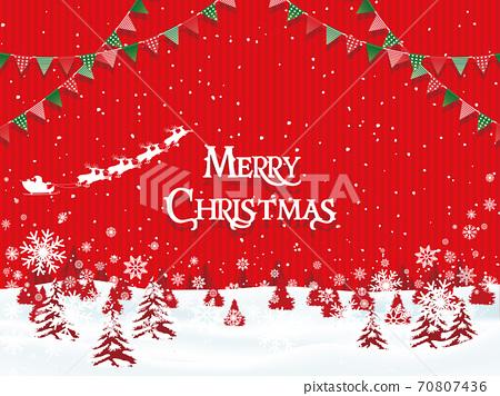 聖誕節圖像素材 70807436