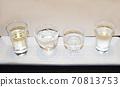 Sake in the glass entrance 70813753