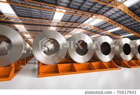 roll of steel sheets 70817641