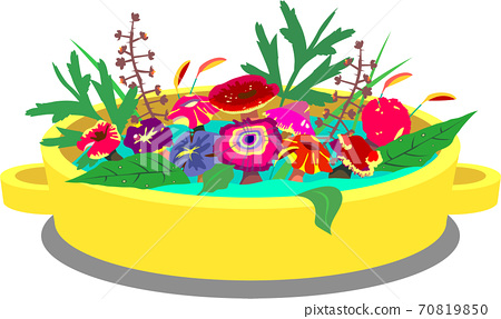 [Vector] Colorful poisonous mushroom stew 70819850