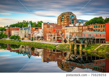 Augusta, Maine, USA Skyline 70826058