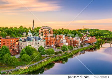 Augusta, Maine, USA Skyline 70826064