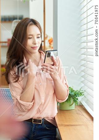라이프스타일, 여성, 젊은여성 70841975