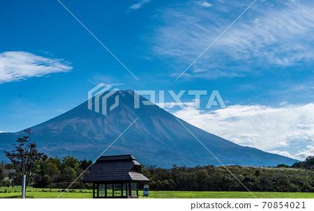 朝雾的富士山刷新停车场 70854021