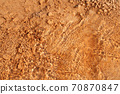 Underwater mineral with brown rock. 70870847
