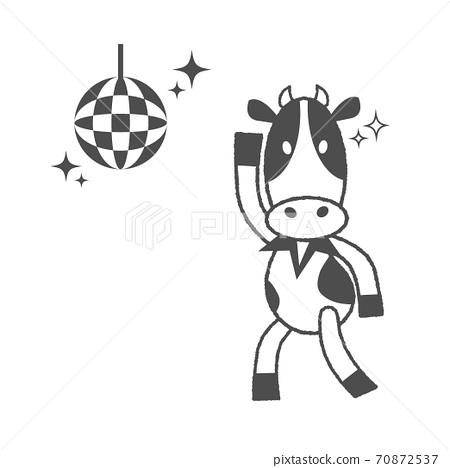 2021年元旦醜舞牛材質 70872537
