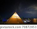 텐트와 해먹 70872853
