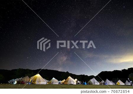 캠프장 은하수 70872854