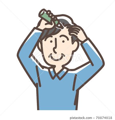 毛髮生長劑適用男 70874018