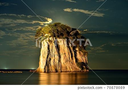 보름달 見附島 70878089