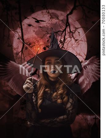 Halloween mystery concept 70880133
