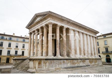 Nîmes, Southern France Ancient Roman Temple Maison Carrée (France) 70883788
