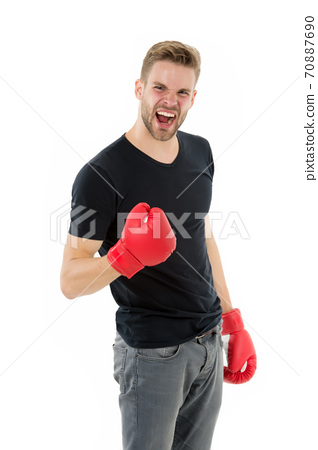 Boxing career famous sportsman. brutal knockout in fight. 70887690