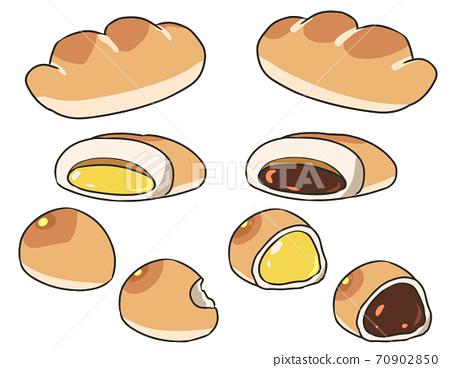 奶油麵包 70902850