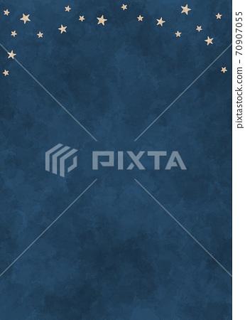 밤하늘의 배경 소재 70907055