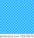 화려한 체크 무늬 배경 또는 도트 무늬 파랑 계 70919676