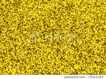 Shiny festive golden shimmer background texture Glitter glow 70925364