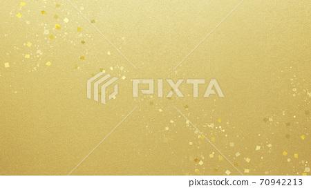 金箔和金粉的簡單背景-有多種變化 70942213