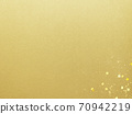 Simple background of gold leaf and gold powder-there are multiple variations 70942219