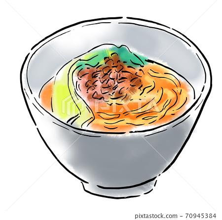 食物圖坦坦麵條 70945384