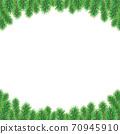聖誕樹樅樹框架綠色圖 70945910