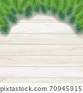 聖誕樹樅樹框架綠色圖 70945915