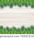 聖誕樹樅樹框架綠色圖 70945916
