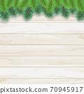 聖誕樹樅樹框架綠色圖 70945917